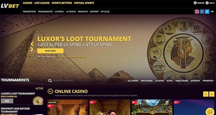 lvbet homepage